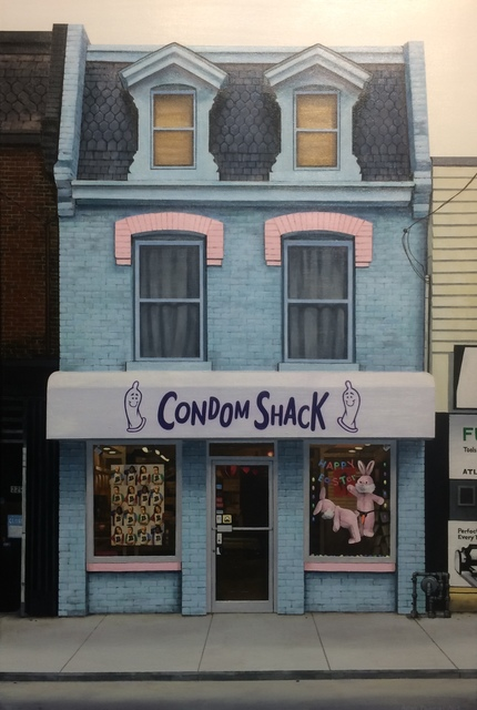 , 'Condom Shack,' 2017, The Front Gallery