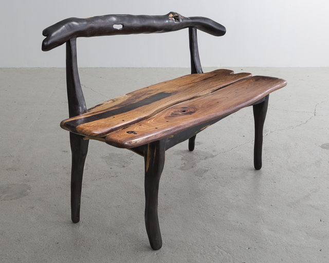 """, 'Sculptural """"Banquet"""" Carved Bench. ,' 2014, R & Company"""