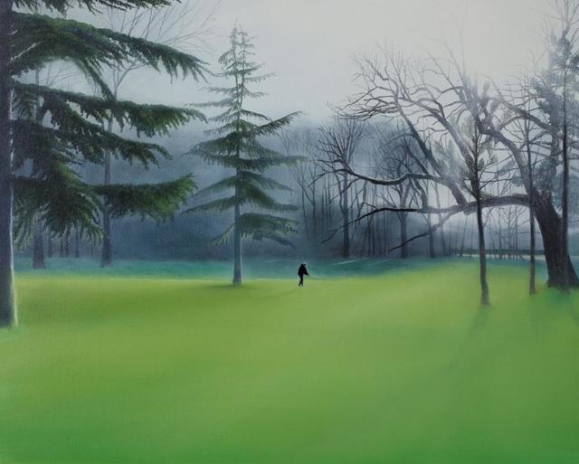, 'Golf player ,' 2018, Kultproekt