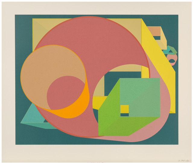 Al Held, 'Scholes I', 1991, Robert Fontaine Gallery