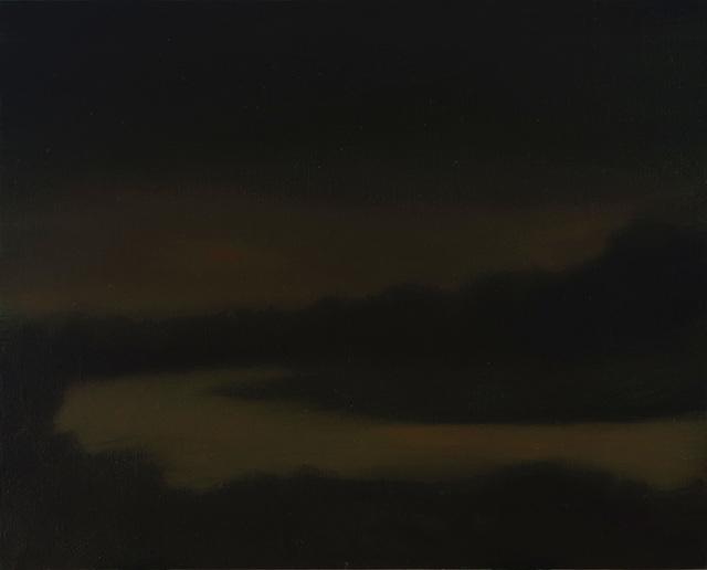 , 'Study for Night River,' 2018, Sullivan Goss