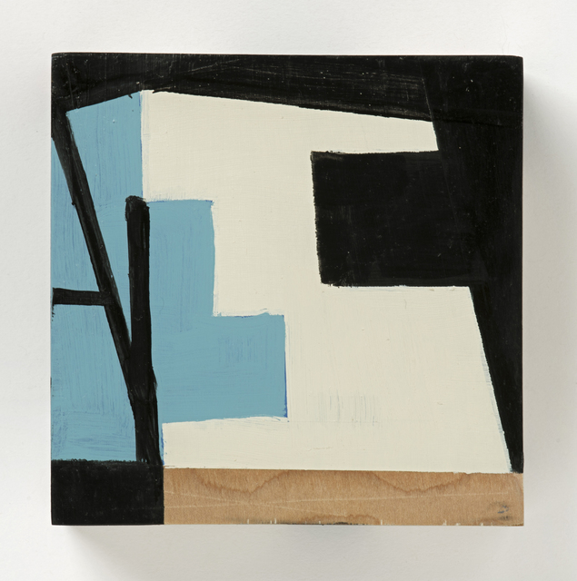 Judy Cooke, 'Poster, Italy', 2015, Painting, Oil and wax on wood, Elizabeth Leach Gallery