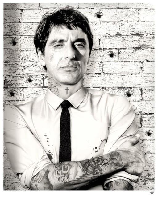JJ Adams, 'Scareface (tattoo series)', 2013, Reem Gallery