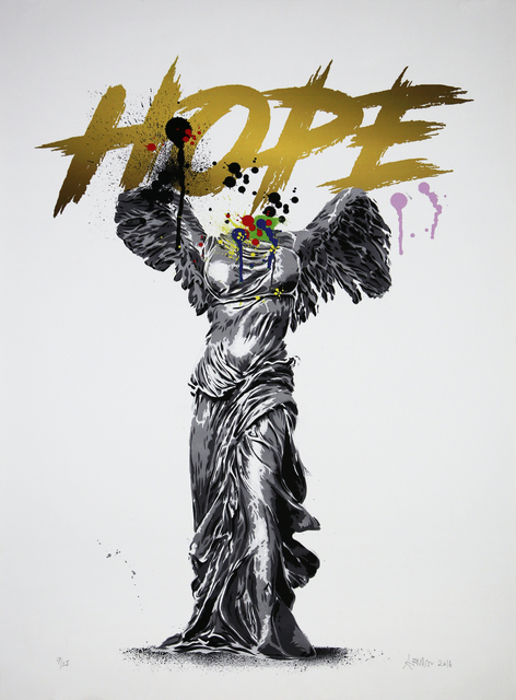 Alessio B, 'Hope (White)', 2018, Print, Giclée on paper, Addicted Art Gallery