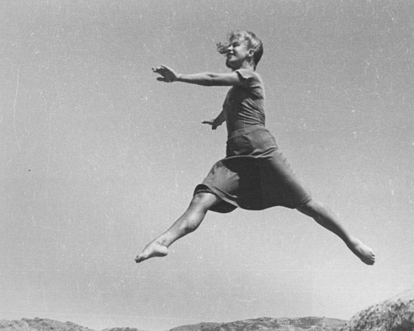 Ellen Auerbach, 'Renate Schottelius, Airwalk', 1946, Robert Mann Gallery
