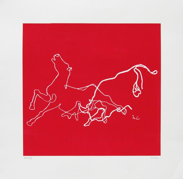 , 'Taurino (caballo) XXVll-L,' , Galeria Oscar Roman