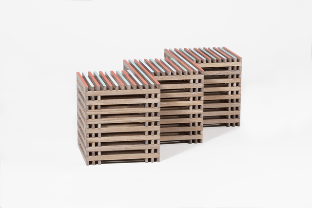 , 'Threestool,' 2016, Patrick Parrish Gallery