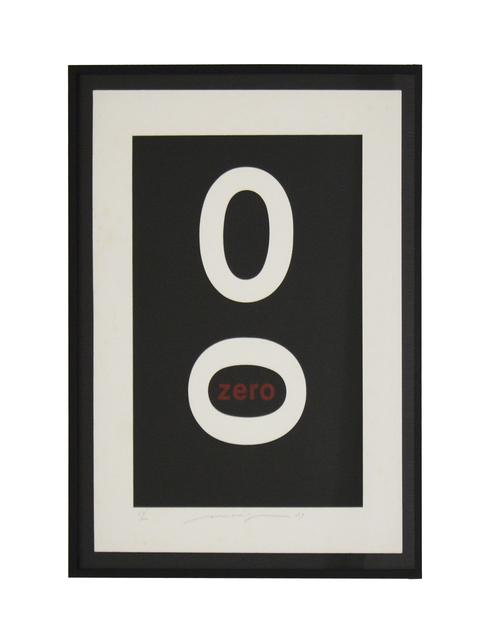 , 'Zero,' 1979, Galeria Houssein Jarouche