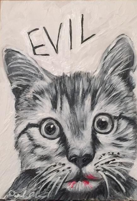 , 'Evil,' 2017, Flower Pepper Gallery