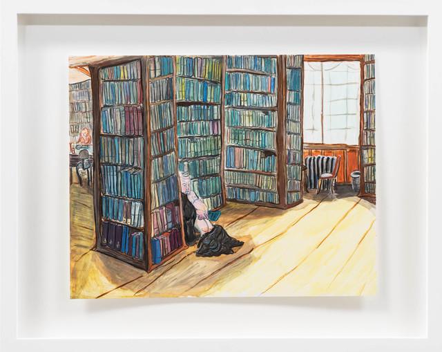 , 'The Santa Monica Library, ca 1982,' 2015, Rosamund Felsen Gallery
