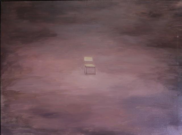 ", '""Empty chair in the desert"",' 2011, Galeria Kalo"