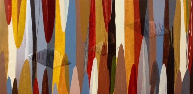 Raul de la Torre, 'POEMES XII', 2014, Painting, Acrylic and Thread on Canvas, Artspace Warehouse