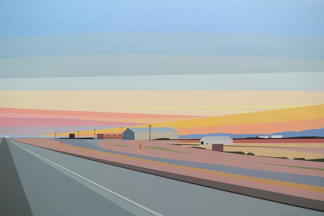 , 'Sunset Near El Paso,' 2015, Octavia Art Gallery