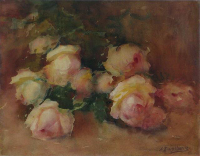 , 'Sin título (flores),' s/f, Oscar Roman