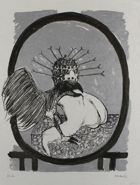 Sergio Vacchi, 'Studio per La Celebrazione', 1965, Print, Color lithograph, Sylvan Cole Gallery