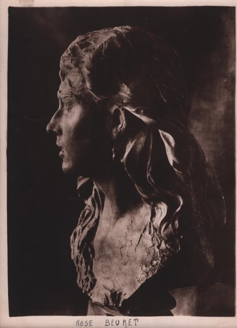 , 'Rodin's Rose Beuret,' ca. 1900, Grob Gallery