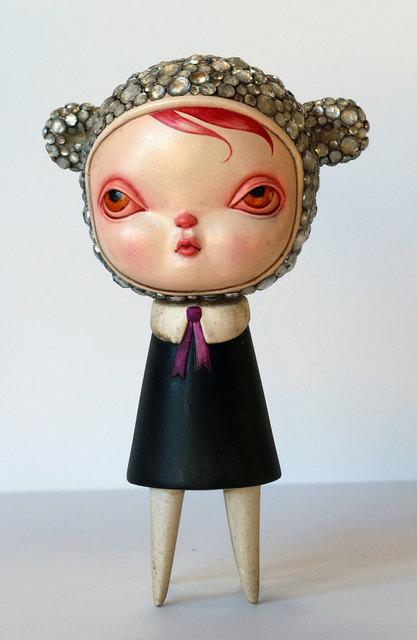 , 'Encrusted Bear Olivia,' 2016, AFA Gallery