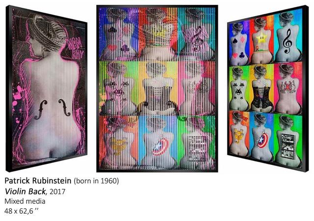 , 'VIOLIN BACK,' 2017, Galerie Vivendi