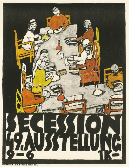 , '49th Secession Exhibition Poster ,' 1918, Galerie Bei Der Albertina Zetter
