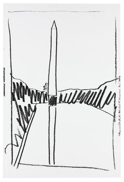 Andy Warhol, 'WASHINGTON MONUMENT FS IIIB.2', 1974, Gallery Art