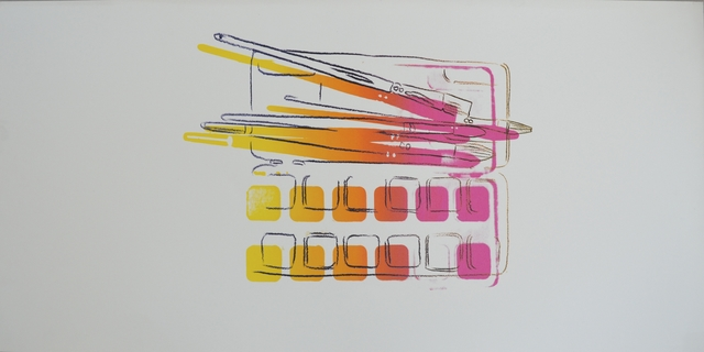 , 'Watercolor Paint Kit with Brushes,' 1982, Long-Sharp Gallery