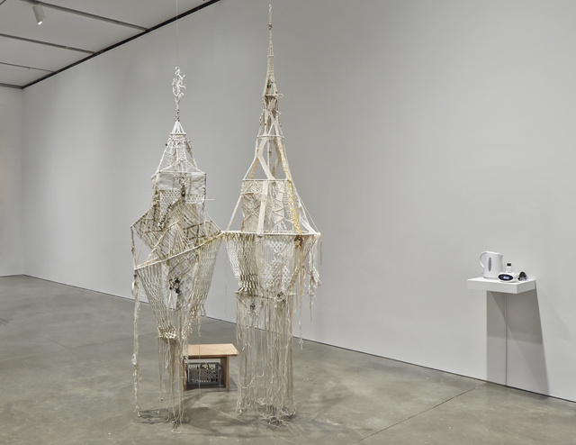 , 'Floating Knowledge and Growing Craft – Silent Architecture Under Construction,' 2013, Barbara Wien