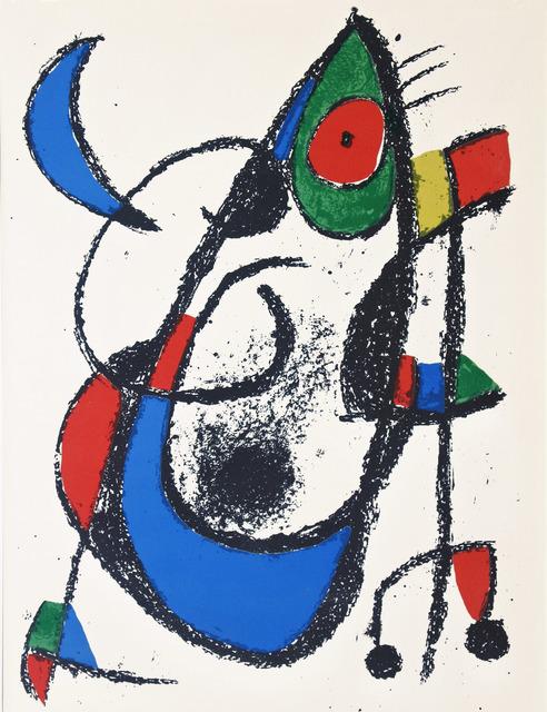 Joan Miró, 'Lithograph II no 14', 1975, Hans den Hollander Prints