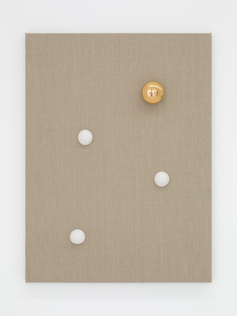 , 'Gold Vessel and White Domes,' 2015, Nina Johnson