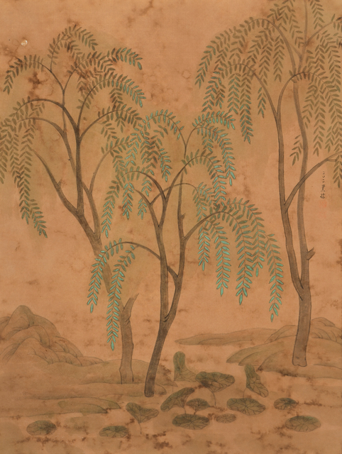 Chung-Ming Su, 'Green Willows 柳色新 ', 2011, Artrue Gallery