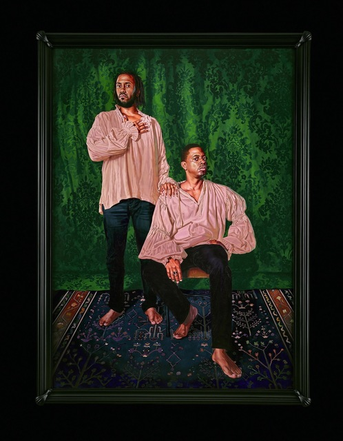 , 'Portrait of Rashid Johnson and Sanford Biggers, The Ambassadors,' 2017, Sean Kelly Gallery