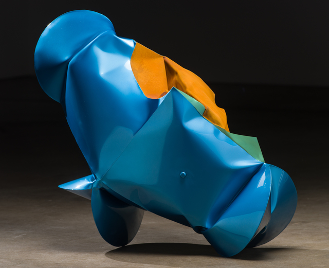 , 'Wagon Blue,' 2017, Bentley Gallery