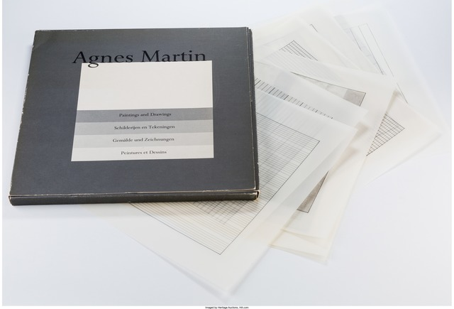 Agnes Martin, 'Paintings and Drawings (suite of 10)', 1991, Other, Color lithographs, Heritage Auctions
