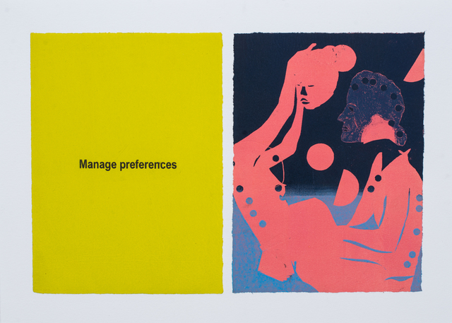, 'Future Business (Manage Preferences) ,' 2015, Meislin Projects