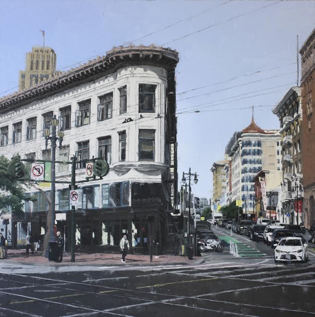 , 'Market Street,' 2019, Maybaum Gallery