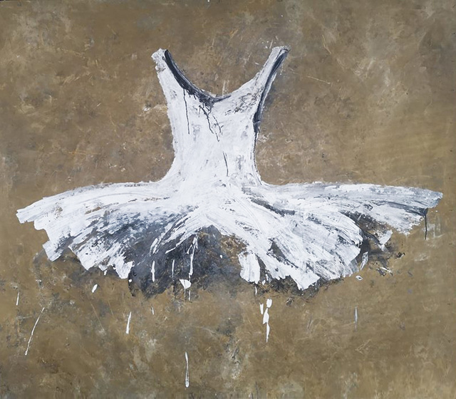 , 'Big White Tutu',' 2018, Galleria Ca' d'Oro