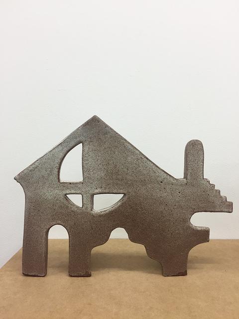 , 'Untitled Ceramic, Brown II,' 2015, LMAKgallery