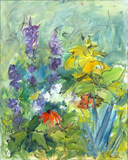 Mary Page Evans, 'Delphinium', 2019, Somerville Manning Gallery