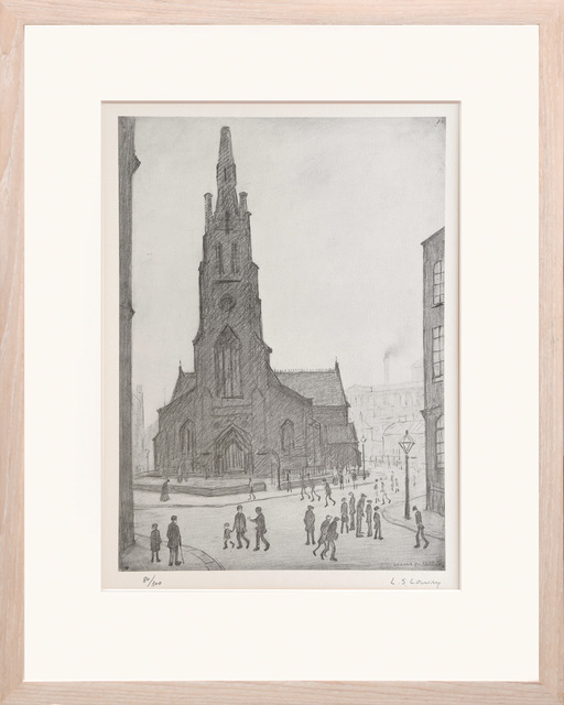 , 'Street Scene, St. Simon's Church,' ca. 1970, Peter Harrington Gallery