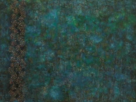 , 'Blue Fog,' 2017, Hakgojae Gallery
