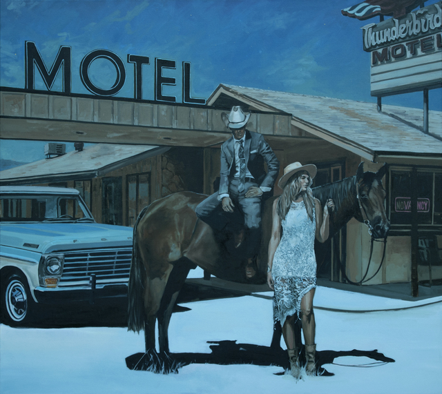 , 'Waiting in the Moonlight,' 2018, Visions West Contemporary