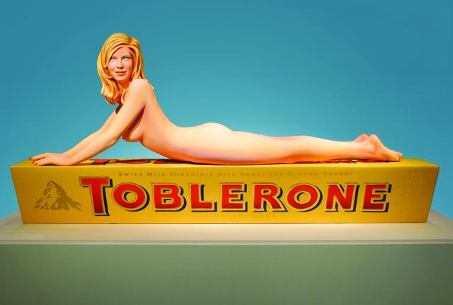 Mel Ramos, 'Toblerone Tess', 2013, Modernism Inc.