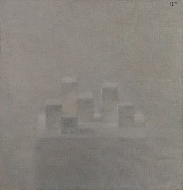 , 'Composition with cubes,' 1980, Art4.ru