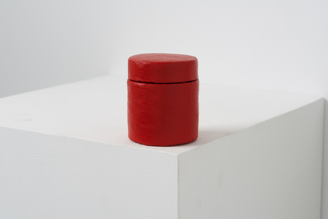 , 'Paint Can _Naphthol Red Light,' 2016, Eslite Gallery