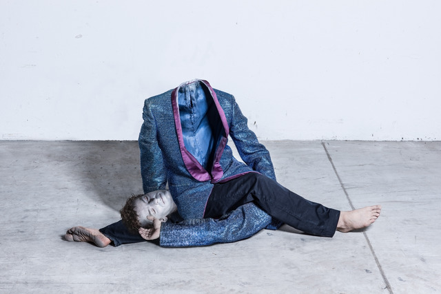 , 'Desecrator's gymnastics [4],' 2013, Raster