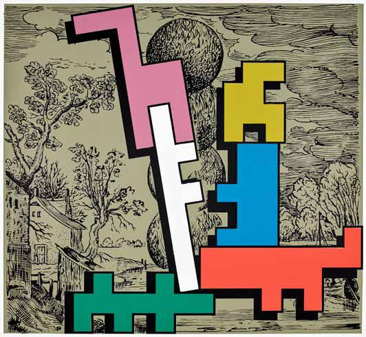 , 'Piecing together I,' 2018, Galerie Kleindienst