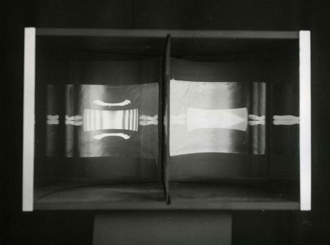 , 'Image virtuelle par deplacement de l`spectateur,' 1964, Del Infinito