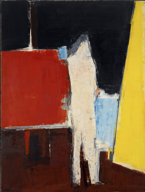 , 'Standing Figure in Studio Interior,' 1961, Osborne Samuel