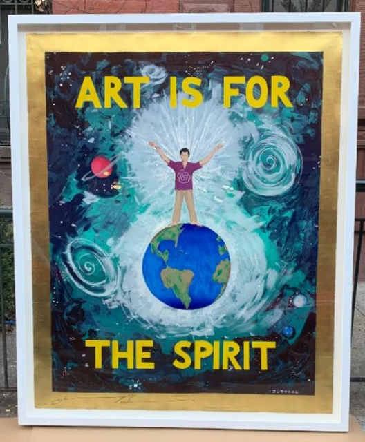 , 'Art is for the Spirit,' 1989, Alpha 137 Gallery