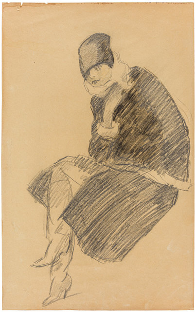 Marcello Dudovich, 'A woman with coat and ushanka', 1920s, ArtRite