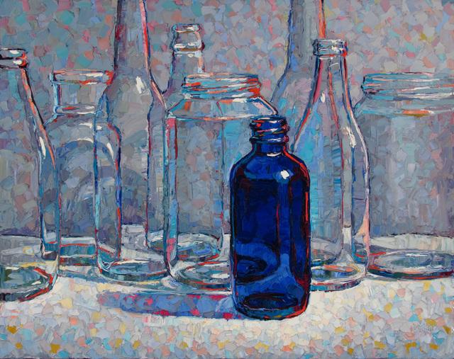 Raymond Logan, 'Bottle Blue', 2019, George Billis Gallery